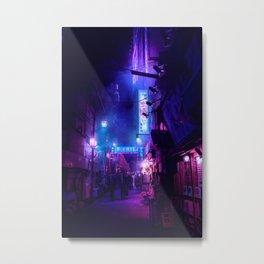 Tokyo Nights / Midnight City / Liam Wong Metal Print