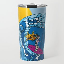 Surfer Girl Travel Mug