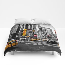 Times Square - Hyper Drop Comforters
