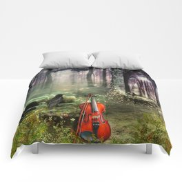 Gothic Dreamland Comforters