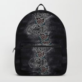 Gather Ye Rosebuds-Life, Death and Time Backpack