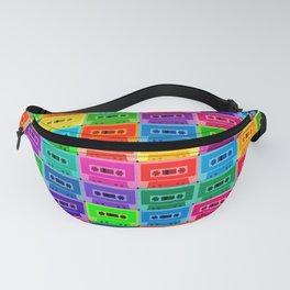 Neon Cassettes Fanny Pack