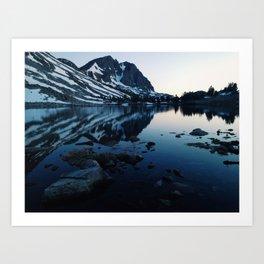 Pika lake Art Print