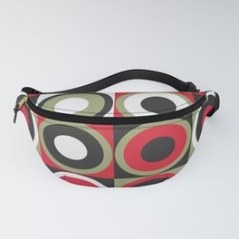 Lucky Strike retro circles Fanny Pack