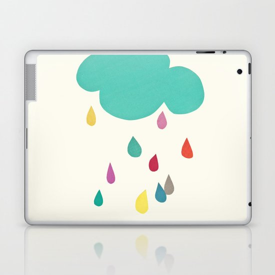 Sunshine and Showers Laptop & iPad Skin