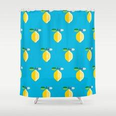 Fruit: Lemon Shower Curtain