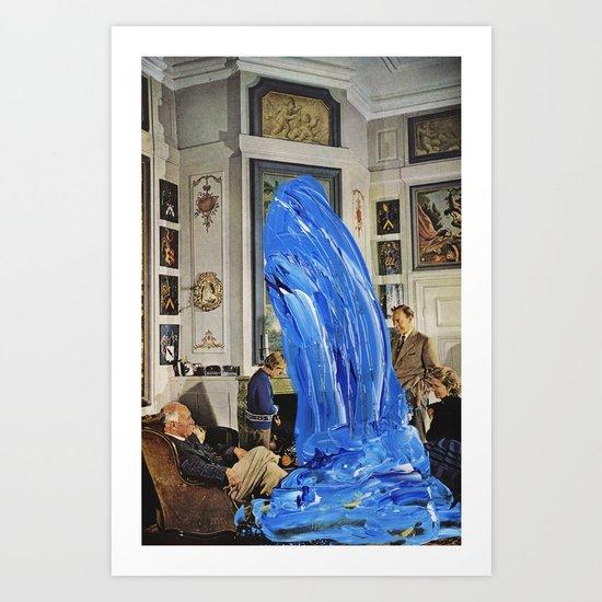wavve Art Print