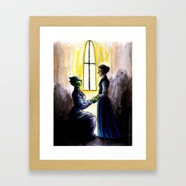 My dear, will you marry me? Framed Art Print