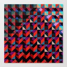 Unreleased Pattern #6 Canvas Print