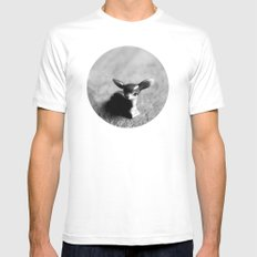 Quiet Fawn Mens Fitted Tee White MEDIUM