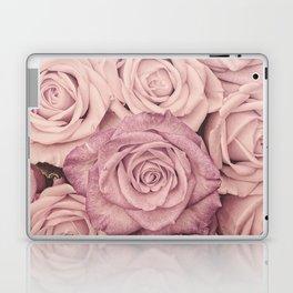 Some People Grumble - Pink Rose Pattern - Roses Laptop & iPad Skin