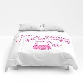 Tea: A medicine you can enjoy. Comforters
