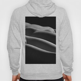 0851-HB Two Women Lay Nude Illuminated in Soft Light Hoody