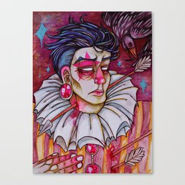 Just Another Love Martyr Canvas Print