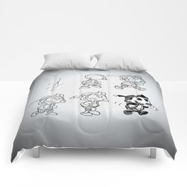 Cartoon Character Step by Step Comforters