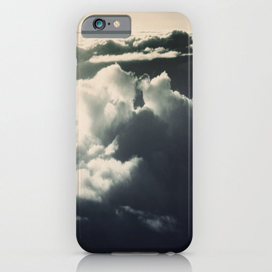 Face in the sky iPhone & iPod Case