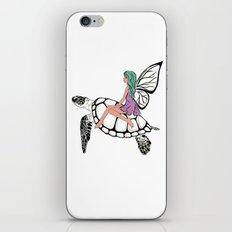 Fairy/ Turtle  iPhone & iPod Skin