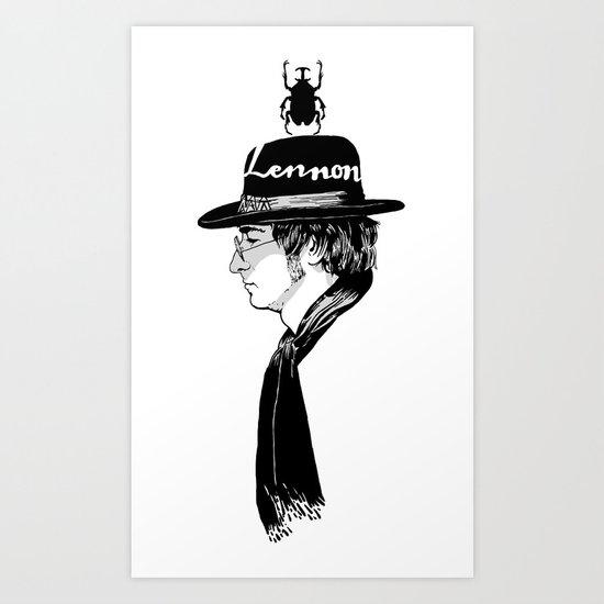 Lennon.John Art Print