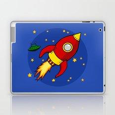 Space Rocket Laptop & iPad Skin