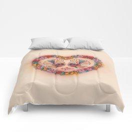 Sweetheart Fantails Comforters