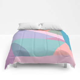 Fractured Triangles in Playful Color Comforters
