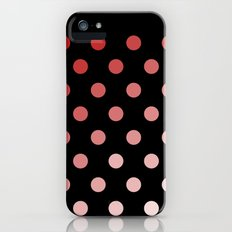 Polka Dots Slim Case iPhone (5, 5s)