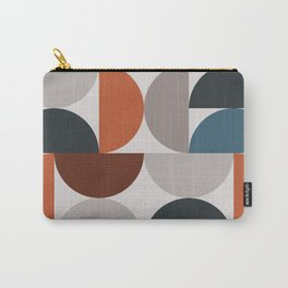 Mid Century Modern Geometric 25 Carry-All Pouch