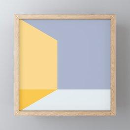 Mélange No. 3 Modern Geometric Framed Mini Art Print