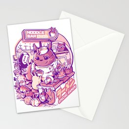 My neighbor noodle bar Stationery Cards