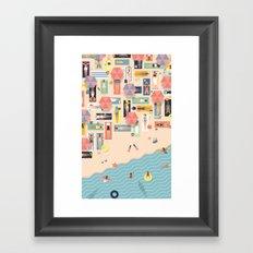 Summertime 2 Framed Art Print