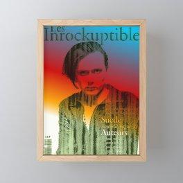 Brett Insists They Are The Pigs Framed Mini Art Print