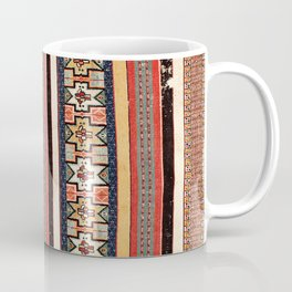 Salé  Antique Morocco North African Flatweave Rug Print Coffee Mug