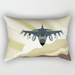 F-16 Fighting Falcon Rectangular Pillow