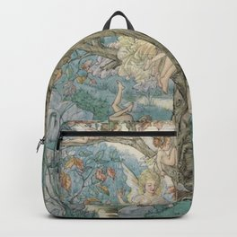 """""""The Fairy Tree"""" by Harold Gaze 1935 Backpack"""