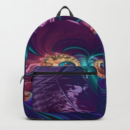 Grained Festiveness Fractal Backpack