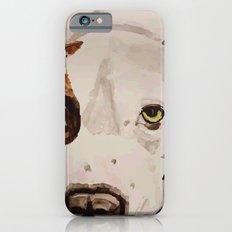 Pit Bull Portrait iPhone 6s Slim Case