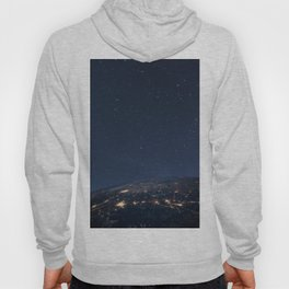 Planet earth from the space at night Hoody