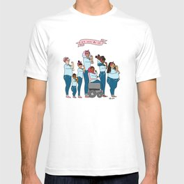 Intersectional Rosie the Riveter T-shirt