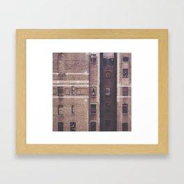 Stranger Across the Way Framed Art Print