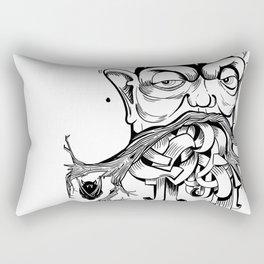 Nerd tree Rectangular Pillow