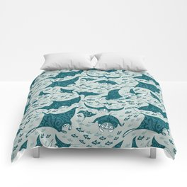 Manta ray Comforters