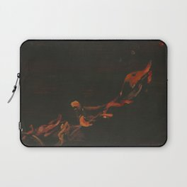 Campfire Flame Laptop Sleeve