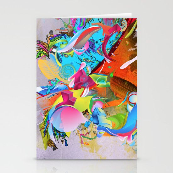 The Pulling Force Stationery Cards