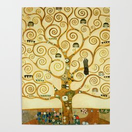 Gustav Klimt The Tree Of Life Poster