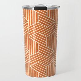 Slice Orange Travel Mug