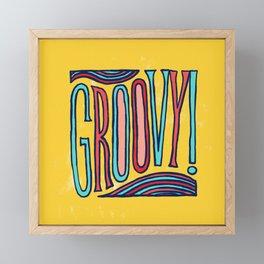 Groovy! Framed Mini Art Print