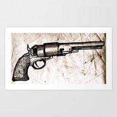 American Pistol II Art Print