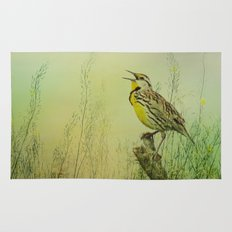 The Meadow Lark Sings Rug