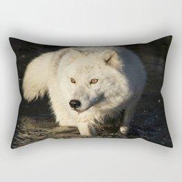 The lone sentinel Rectangular Pillow