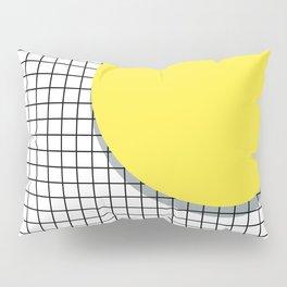 Memphis Yellow Pillow Sham